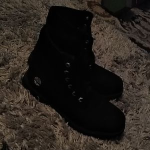 Timberland Shoes - Black timberlands
